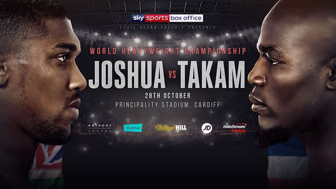 JOSHUA vs TAKAM, Principality Stadium, Cardiff