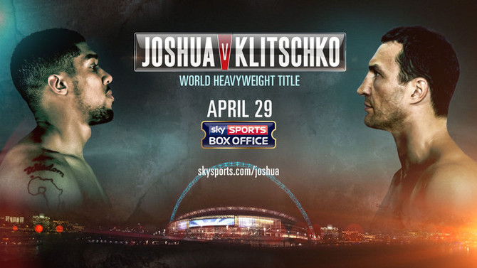 KLITSCHKO vs JOSHUA, Wembley Stadium, London