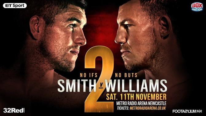 SMITH vs WILLIAMS 2, Metro Radio Arena, Newcastle