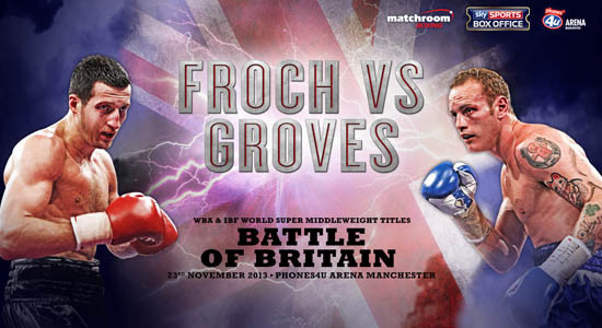 FROCH vs GROVES, Phones4u Arena, Manchester
