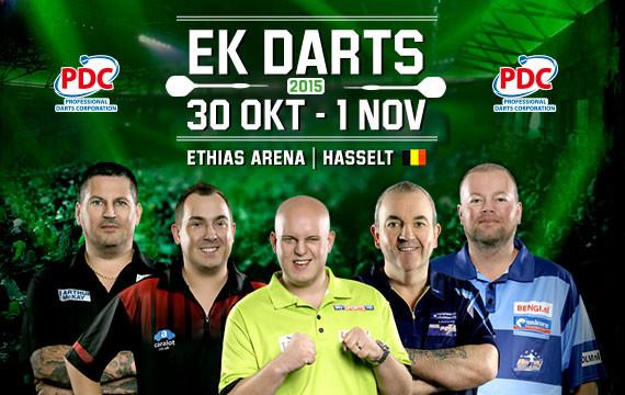 EK DARTS, Ethias Arena, Belgium