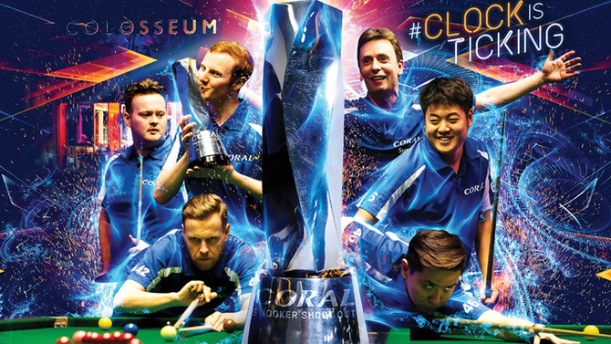 CORAL SNOOKER SHOOT OUT, Watford Colosseum, Watford