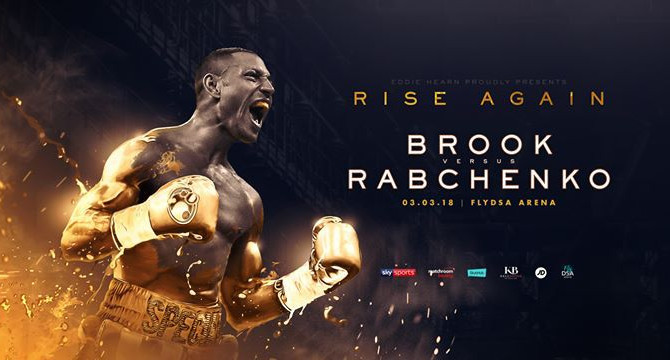 KELL BROOK vs RABCHENKO, Flydsa Arena, Sheffield