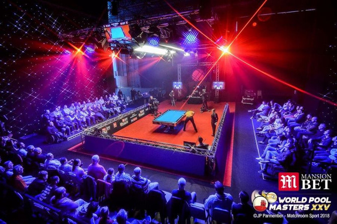 WORLD POOL MASTERS 2018, Victoria Stadium, Gibraltar