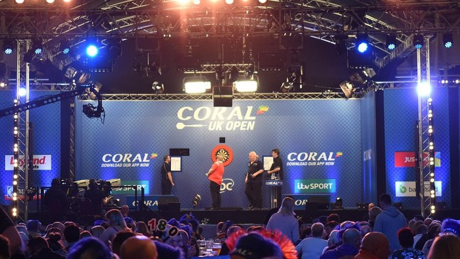 THE 2018 CORAL UK OPEN DARTS, Butlins Minehead Resort