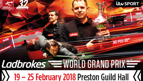 2018 LADBROKES WORLD GRAND PRIX, Preston Guild Hall, Preston