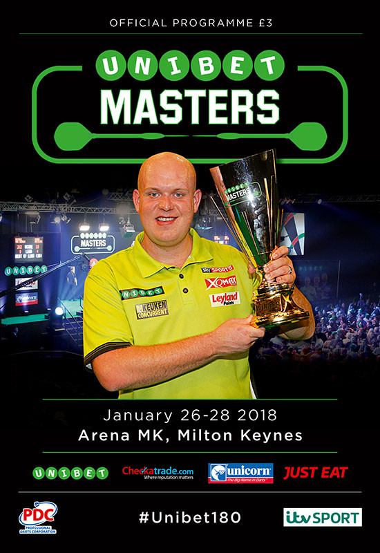 2018 UNIBET MASTERS PDC, Arena MK, Milton Keynes