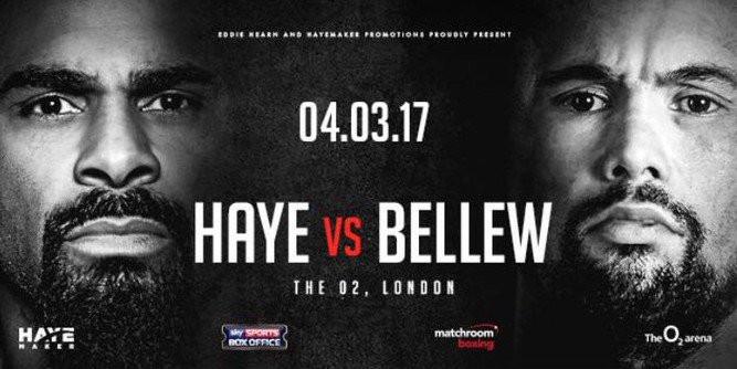 HAYE vs BELLEW, O2 Arena, London