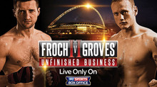FROCH vs GROVES II, Wembley Stadium, London