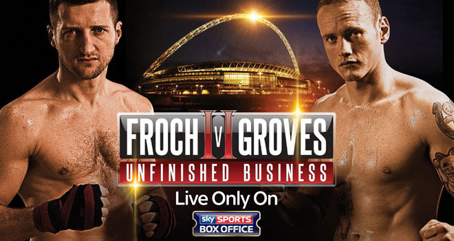 FROCH vs GROVES II, Wembley Stadium, London