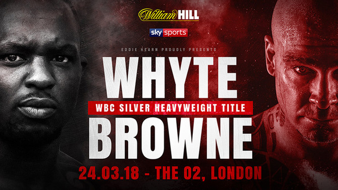 DILLIAN WHYTE vs LUCAS BROWNE, The O2 Arena, London