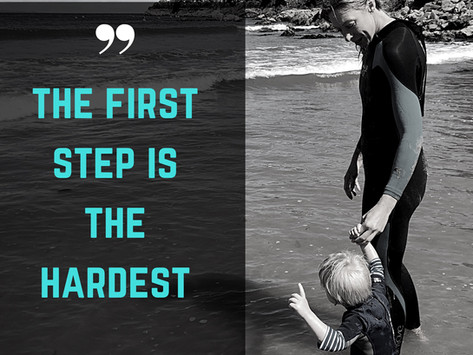 The First Steps are Always the Hardest