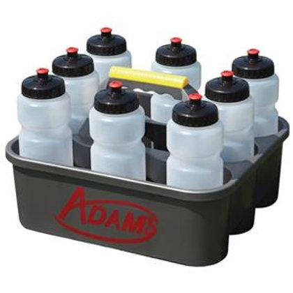 8 Water Bottles & Carrier