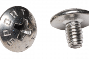 "Short Chin Strap Screws 3/16"" (Bag of 50)"