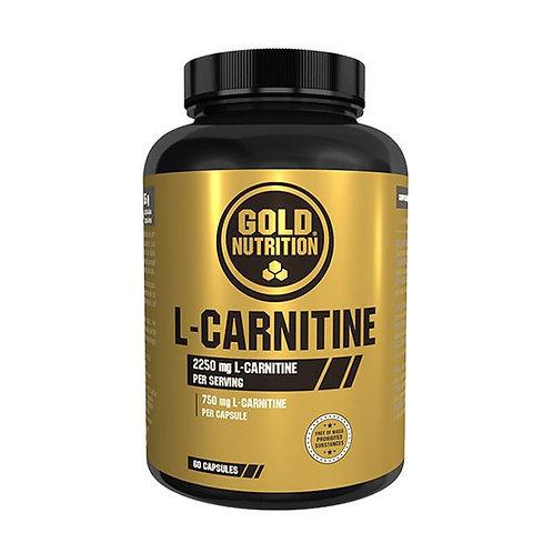 L-CARNITINA 750MG - 60 CAPS - GOLDNUTRITION