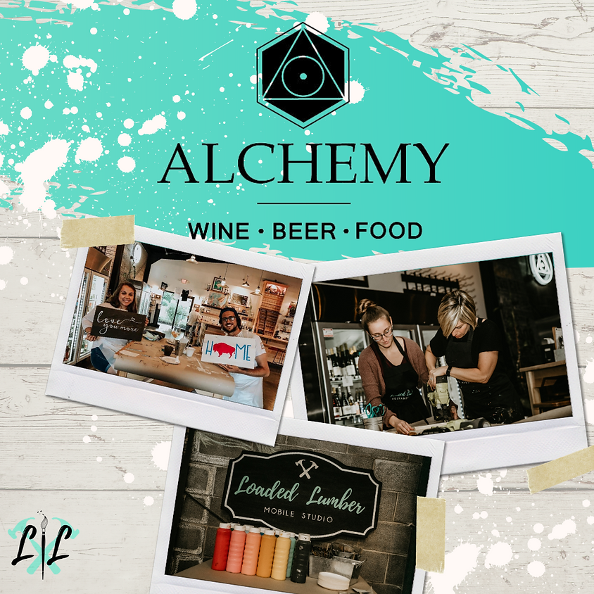 Pinot & Pallets - DIY Workshop @ Alchemy April 28th, 6-9 pm