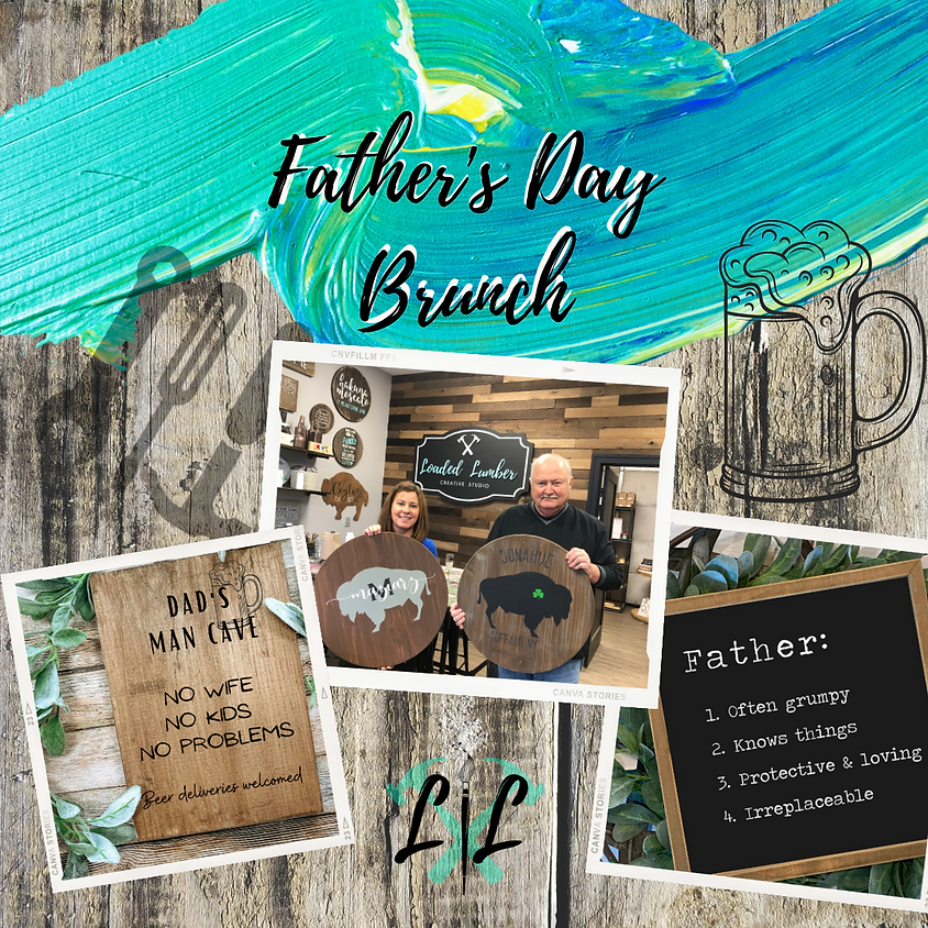 Father's Day Boards, Brunch & Booze- June 20th 10a-1p
