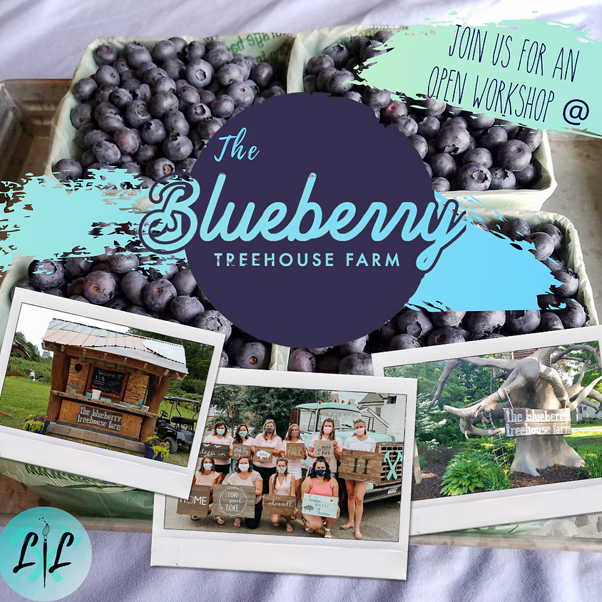Boards, Blueberries and Booze -@ The Blueberry Treehouse Farm- July 16th 6-9p
