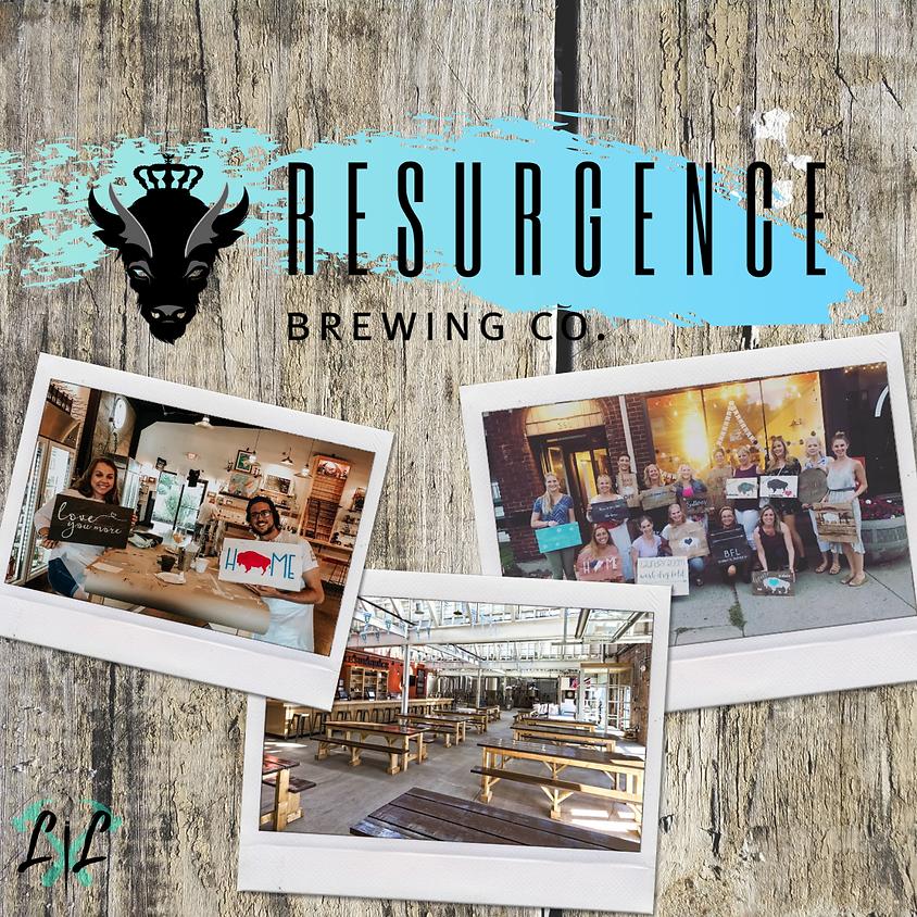 Boards & Beers - DIY Workshop @ Resurgence Brewing Co.