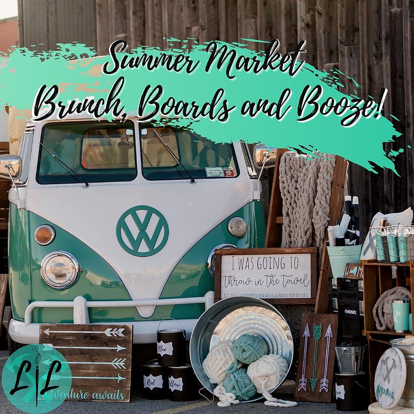 Summer Market - Boards, Brunch & Booze