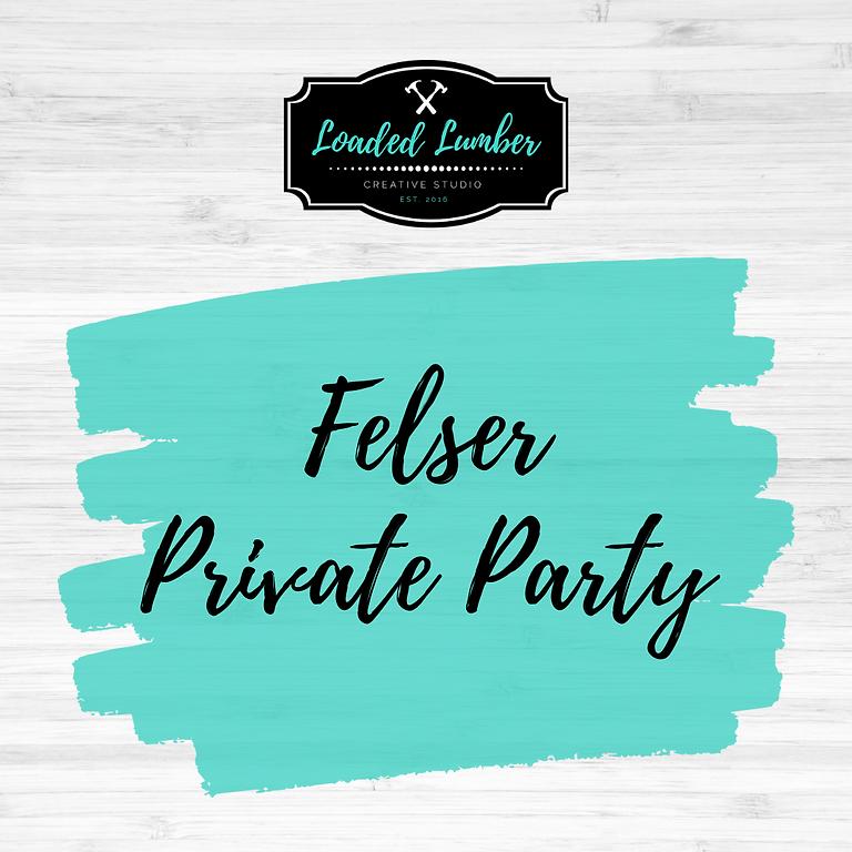 Felser PP- October 22nd 6-9pm