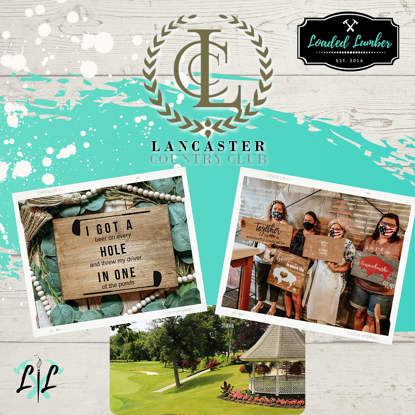 Private Event - DIY Workshop @ the Lancaster Country Club