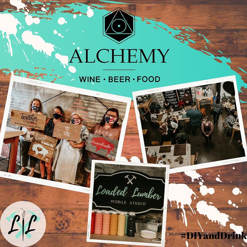 Pinot & Pallets - @ Alchemy Wine Bar- August 26th 6-9p