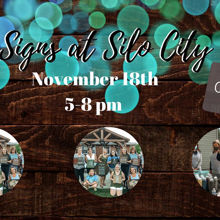 Signs at Silo City @ Duende- November 18th 5-8 pm