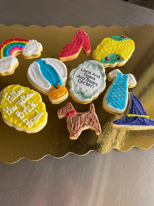 Custom Sugar Cookies by the Dozen
