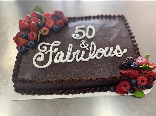 Cakes & Custom Cakes (Pricing starts @ 16.99)