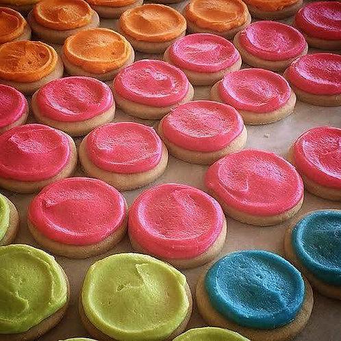 1 dozen Button Cookies
