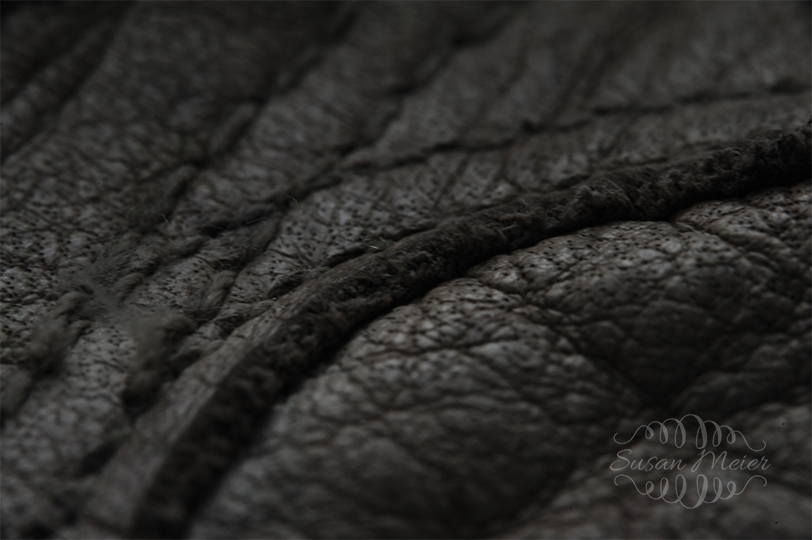 Leather Glove Texture