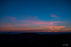 Gorton Rd Sunset - Blue