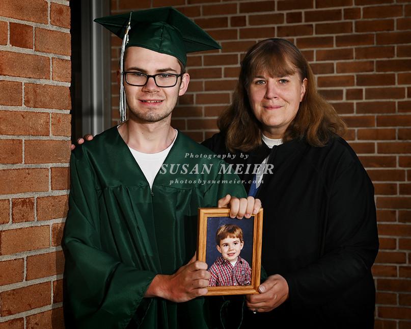 Noah & Mom - HS Graduate