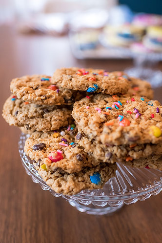 Monster Cookies (Gluten Free & Vegan)