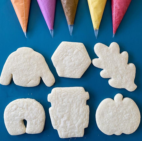 LIVE Virtual Cookie Class: Sweater Weather