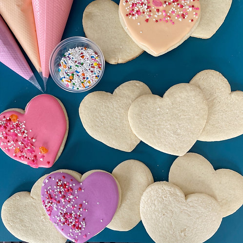 Valentine DIY Cookie Kit