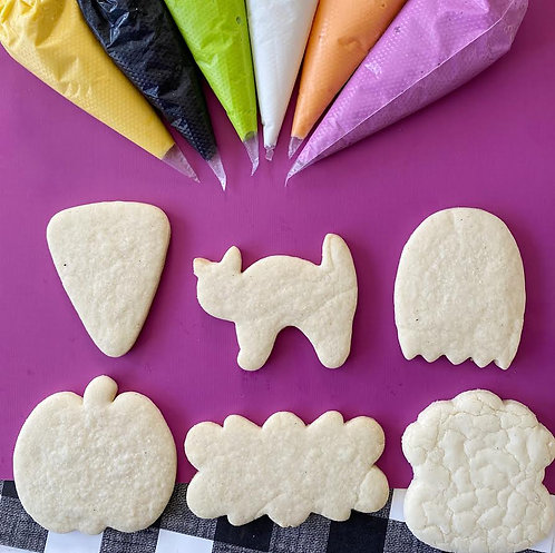LIVE Virtual Cookie Class: Not So Spooky Halloween