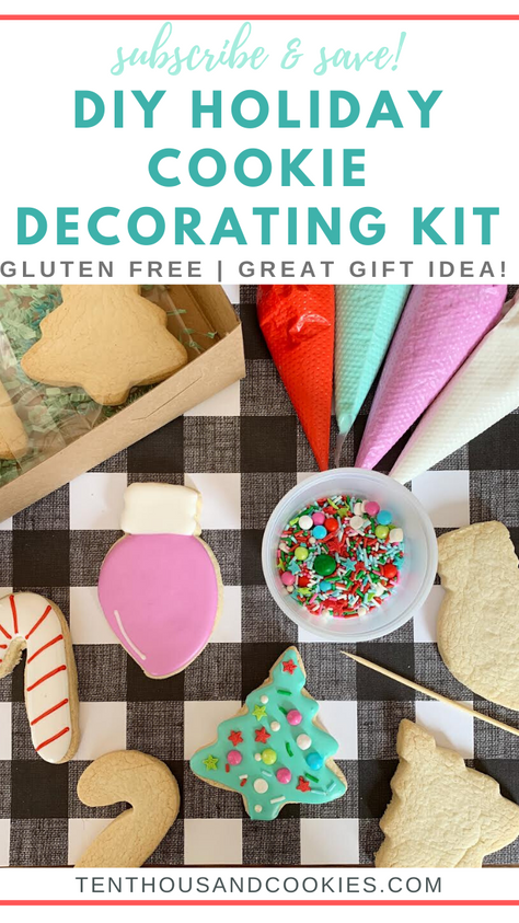 Black Friday Deals on Cookie Decorating Class, Kits, and Cookie Subscriptions!