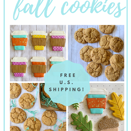 Fall Cookies for sale!