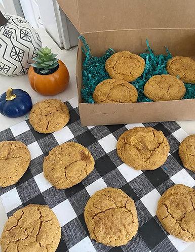 Pumpkin Spice Snickerdoodles (Gluten Free & Vegan)