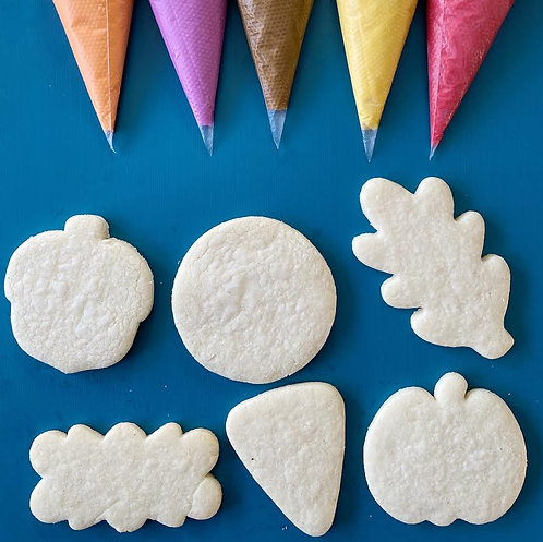 LIVE Virtual Cookie Class:Thanksgiving