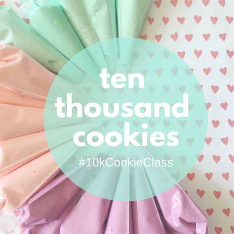 Introducing my new e-course for beginner cookie decorators: Cookie Class!