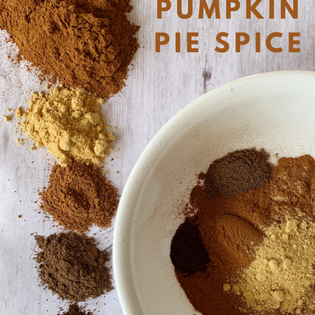 DIY Pumpkin Pie Spice