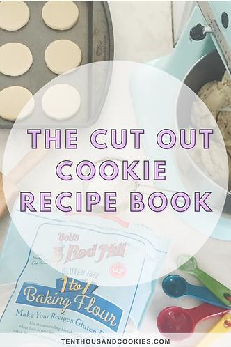 Cut Out Cookie Recipe Book, Gluten Free & Vegan Cookies