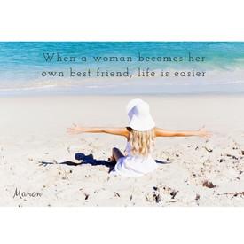 Je eigen beste vriend/vriendin zijn.