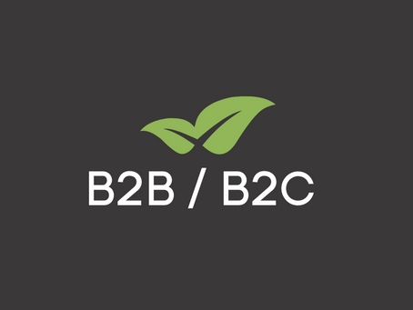 What is the difference between B2B and B2C in marketing?