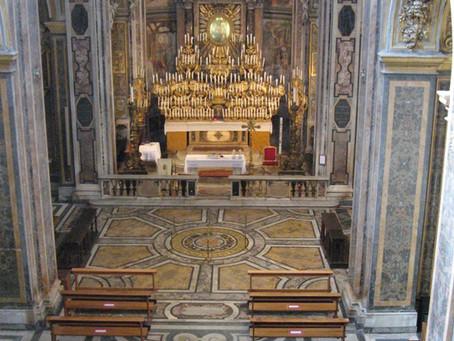 Riprendono le celebrazioni eucaristiche