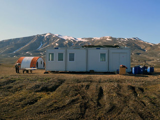 New Geological Research Station In East Greenland