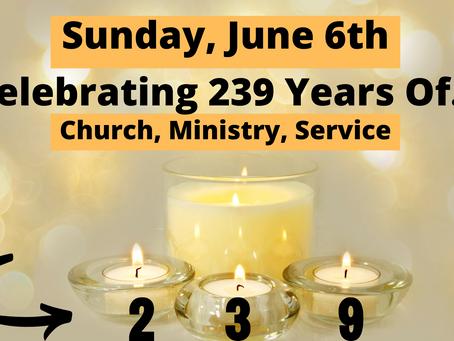 NSCC Service - June 6, 2021